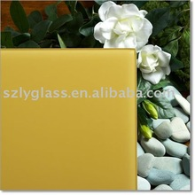 Screen printed glass/silk tempered glass table for building pass ISO&3C factory in Shenzhen China