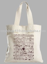 2011 fashion cotton canvas shopping bag