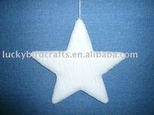 white tissue paper Foam star,D28cm
