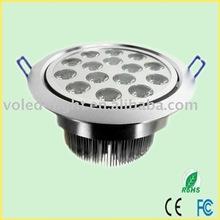 LED down lighting VOL-DL15B 15w (15*1w) CE FC ROHS