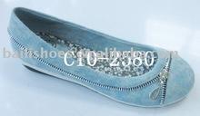 lady shoe girl shoe flat shoe C10-2580