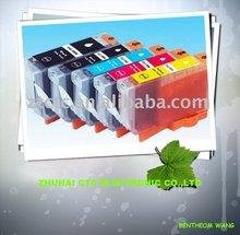 a set CHIPPED PGI-5BK CLI-8BK CLI-8C CLI-8M CLI-8Y CANON Compatible Ink Cartridge