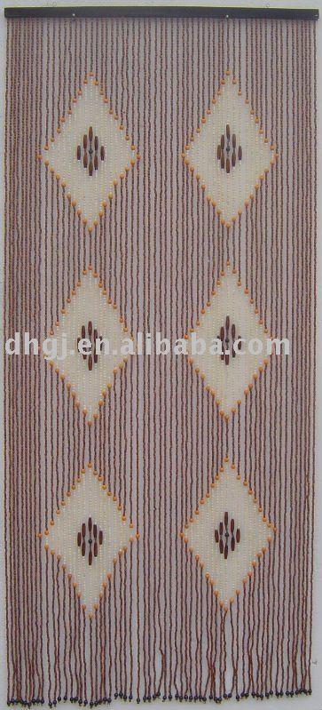 31 fili di perline di legno della tenda con frecce e punti-Persiane e tapparelle rifugio-Id ...
