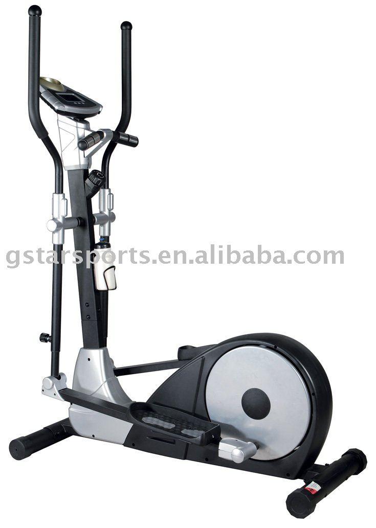 trainer elite hrt cross fitness - folding vision elliptical x6200