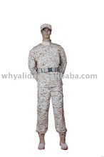 ACU 2 T/C U.S Army Digital Desert Military Camouflage ACU Uniform Suit in China Factory