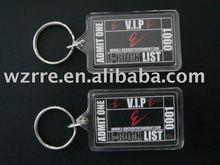 customized acrylic key finder with keychain
