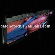 6X4m P16mm advertising outdoor video full color mobile led advertising board