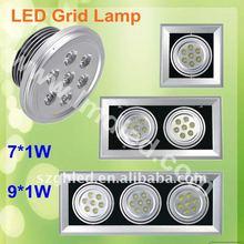 7*1W AR111 LED grid Light