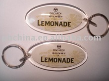 AKC-055 Key Ring, Key Chain, Key Holder With Sign