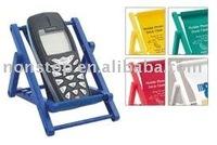 Beach chair shaped mobile phone holder