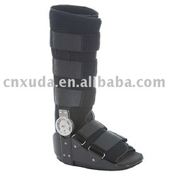 Cam adjustable walker cast boot