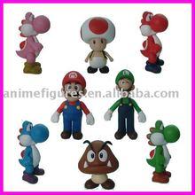 Super Mario figures,vinyl toys