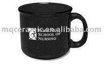 Ceramic glazed coffee mug