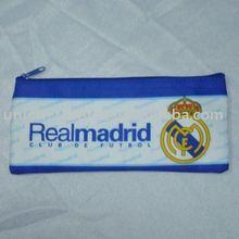 Real Madrid FC Football pencil case/soccer pencil case/football club fabric pencil bag