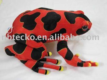 plush tree frog sea animal toy/soft children toy