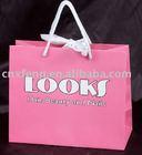 strawberry folding tote bag,gift packaging bag,promotional paper bag