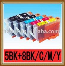 5 PGI-5BK CLI-8BK CLI-8C CLI-8M CLI-8Y CANON Compatible Ink Cartridge For PIXMA IP6600D/IP6700D PRINTER