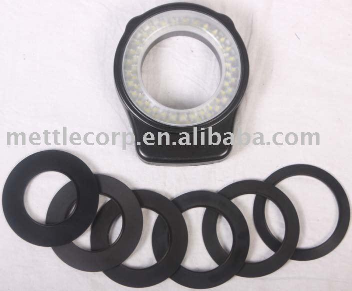 LED camera light, RL-60,mettle photographic equipment, LED ring light, macro light
