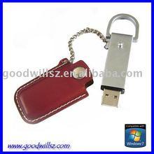 USB Hard Drive Leather