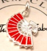 newest mobile &necklace charms silver jewelry -CM092