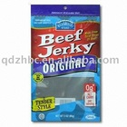 Beef Jerky plastic packing bag/ packing plastic bag stand up/food grade bag