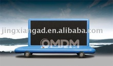 OMDM LED Advertising Vehicles with steer wheel