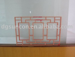 acrylic Chinese window frame