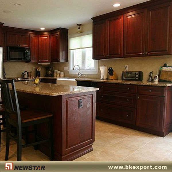 Dark cherry mobiliario de cocina armarios gabinetes cocina - Mobiliario de cocina precios ...