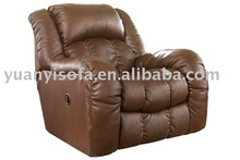 luxury & lax leather recliner/rocking chair- YRC9026
