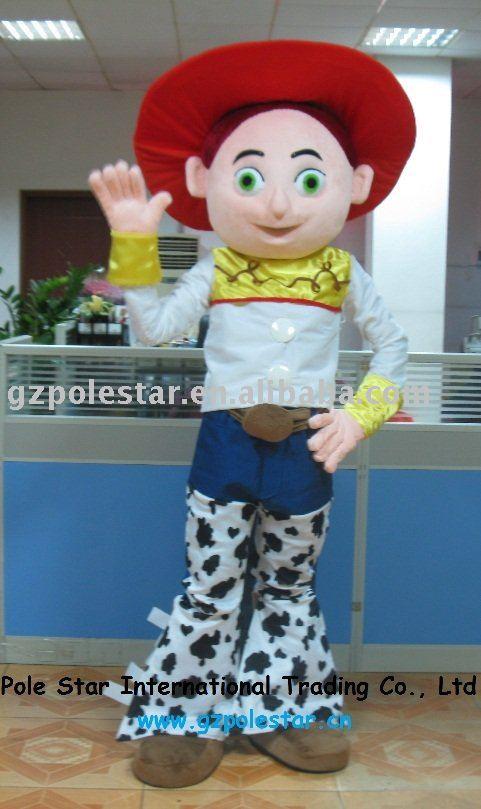 Jesse Toy Story traje / Jesse traje de la mascota
