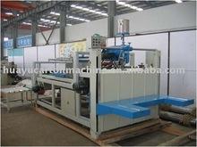 ZXJ ET 118 semi-automatic box fold gluing machine/fold and gluer