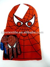 Boy's new style spider man funny knitted hat