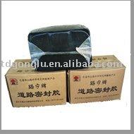 'Lu - Ning' marque route fissure matériau d'étanchéité