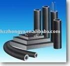 Adiabatic NBR and PVC plastic rubber foam sheet