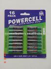 R03 size UM4 1.5 V battery