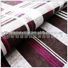 stripe printed woven bedsheet