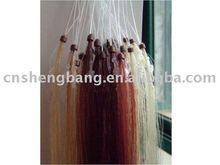 Human hair extensions Micro-ring hair