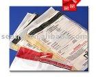 warranty envelopes;tamper proof security bag;bank bag