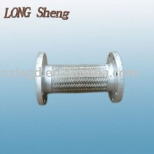 DN80mm SS316 flexible braided metal hose/expansion joint