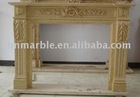 Decor Flame Electric Marble Stone Fireplace