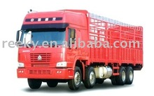 SONCAP Certificated and Top-quality and Excellent Working Capacity Howo 8x4 Cargo Truck with Powerful Engine