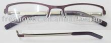 stainless steel frame glasses!