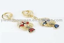 Fashion Metal Swaroski Rhinstone Enamel Lobster Key Chain , Key Ring SY12190