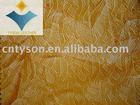 Fashion embossed zipper grain pu artificial leather