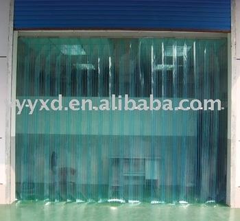 Soft plastic PVC door curtain