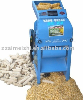 Corn sheller for dried cobs