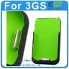 1800mAh 3Gs Green iphone Portable Backup Battery Case