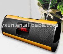 Metal case Multi-media MINI Speaker with FM Radio and Voice Recorder