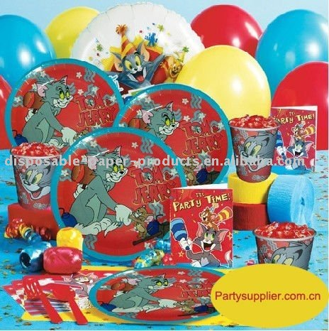 Tom and Jerry Basic Party Pack, View Tom and Jerry Basic Party