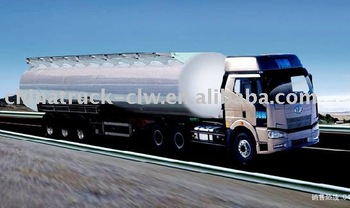 FAW fuel tanker oil transportation trailer truck